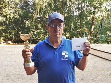 Turniersieger Hartmut Browatzki - TSV Aukrug e.V.