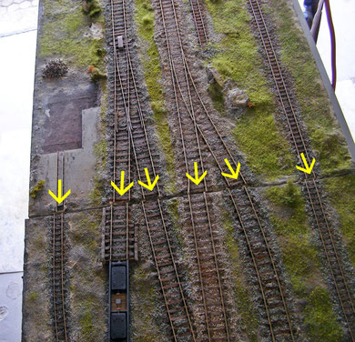 6 Gleise müssen passen.... (Modul 2012)