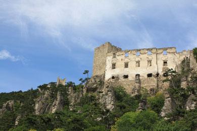 Burgruine Rauhenstein in Baden bei Wien