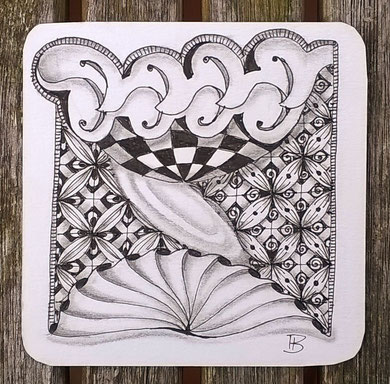 patterns: scarabou, knightsbridge, angelfish, 2x crux