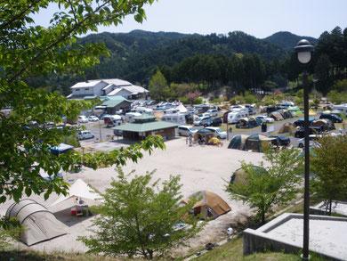 ささゆりの湯前オートキャンプ場