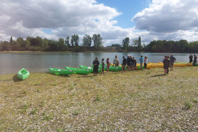 location canoes Couthure sur Garonne