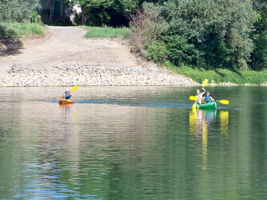 Canoës kayaks hure