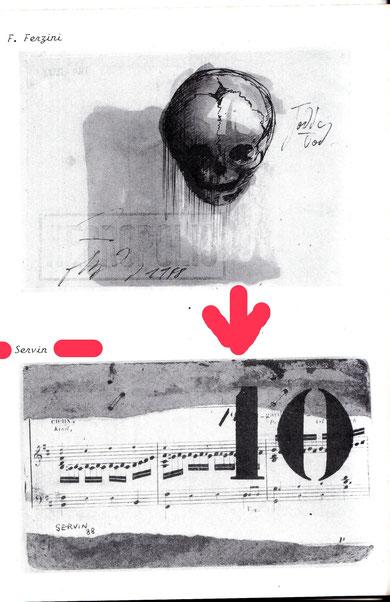 La carte postale de SERVIN dans la revue OFFERTA SPECIALE