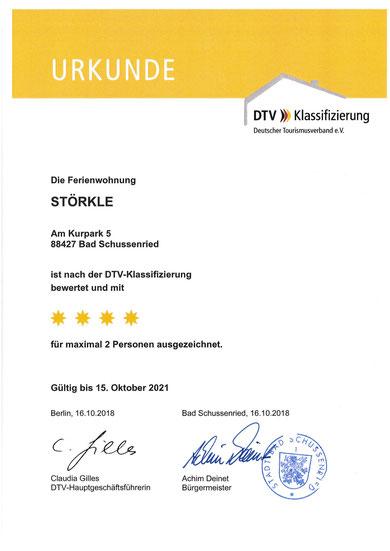 4 Sterne DTV (Deutscher Tourismusverband)