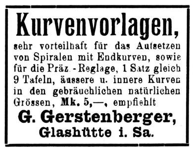 Allgemeines Journal der Uhrmacherkunst Nr. 9 v. 1. Mai 1919 Anzeigenteil