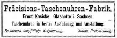 1. Werbung 1898 in der Fachpresse