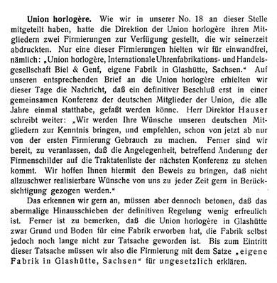 DUZ Nr. 22 v. 1. Nov. 1904 S. 326