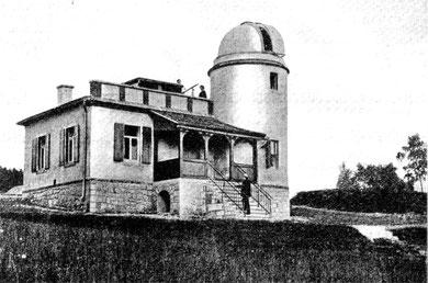 Die Glashütter Sternwarte 1910
