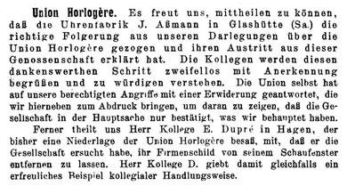 DUZ Nr.23 v.1. Dez.1903