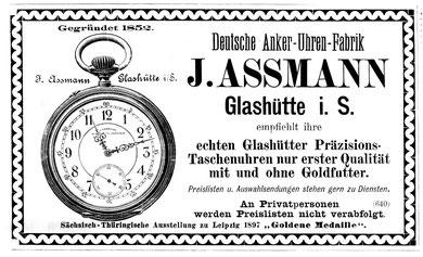 Werbeanzeige aus dem Jahr 1897 [6]