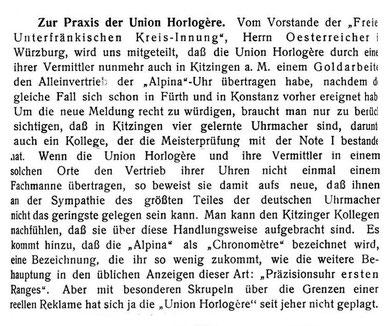 DUZ Nr. 8 v. 15. April 1905 S.114-115