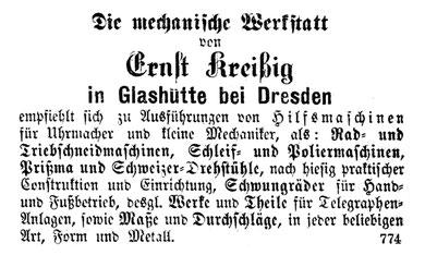 [X] AJU Nr.44 v. 21. Nov. 1877 Beilage