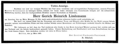 Deutsche Uhrmacher-Zeitung am 1. April 1885 Nr.7