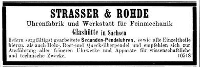 Deutsche Uhrmacher-Zeitung Nr. 4 aus dem Jahr 1885