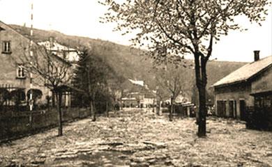 April 1897 Hochwasser in Glashütte