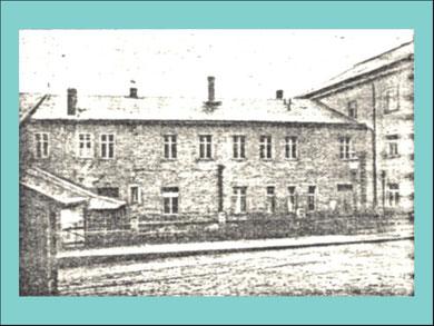 1878 Erste Unterrichtsräumlichkeiten der Schule