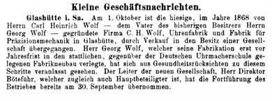 Allgemeines Journal der Uhrmacherkunst Nr.19 v. 8. Okt. 1912 S. 170