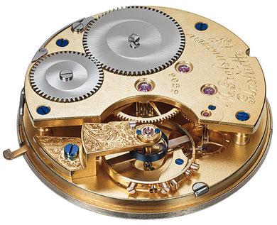 Glashütter Ankerchronometerwerk Nr. 5306 von Moritz Großmann