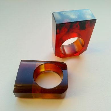 Amber, molded amber, amber press