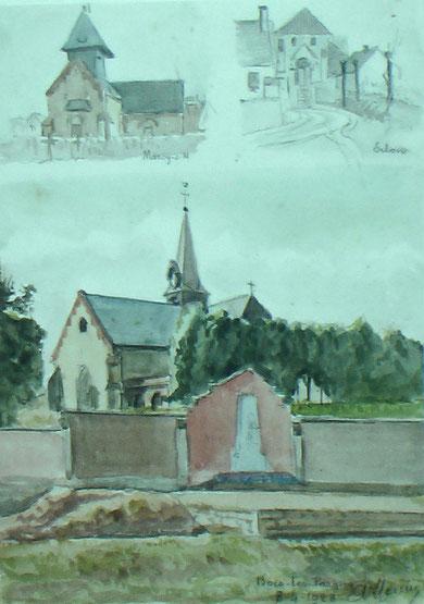 A la mairie de Bois les Pargny