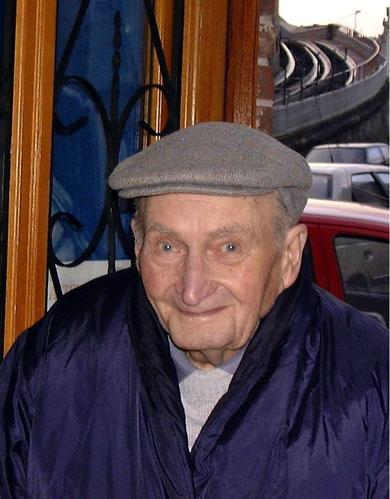 Pierre ROMAGNY, petit fils d'Alexandre MENU, le 1er janvier 2000