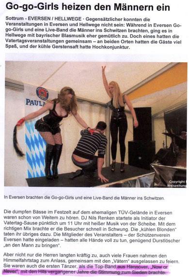"""Kreiszeitung""- Bericht"