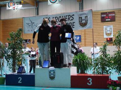 Véronique GRIMAULT, pour son sixième podium au critérium en 7 ans !