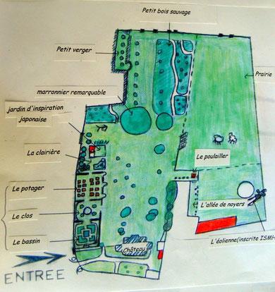 plan parc et jardin de creuse picardie