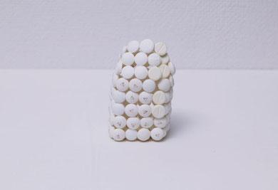 untitled   2003  medicine , glue