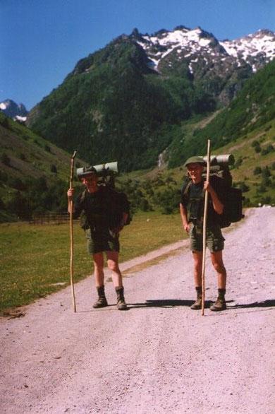 Pyrenäen: A. Otten - A. Löfgen