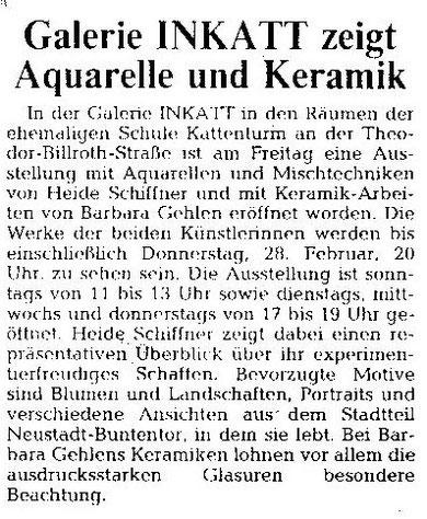 Weser-Kurier 13.02.1991