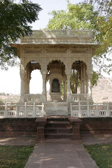 hier werden und wurden alle Herrscher von Jaipur gestattet