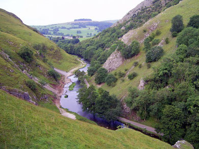 Dovedale in the White Peak