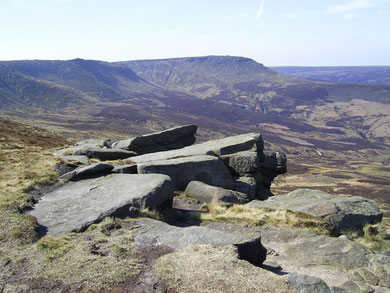 Kinder Scout, The Dark Peak
