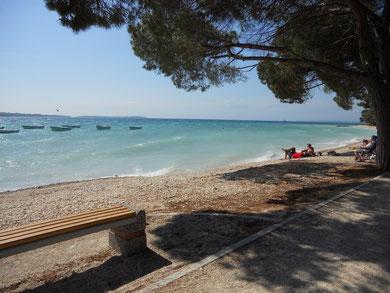 Strand Camping Bi Village Kroatien