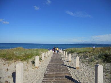 Strandzugang Juliusruh Rügen Deutschland