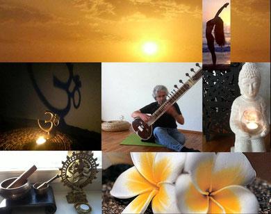"Der Sonnengruß (Sūrya Namaskāra), auch ""Sonnengebet"" oder ""Gruß an die Sonne"""