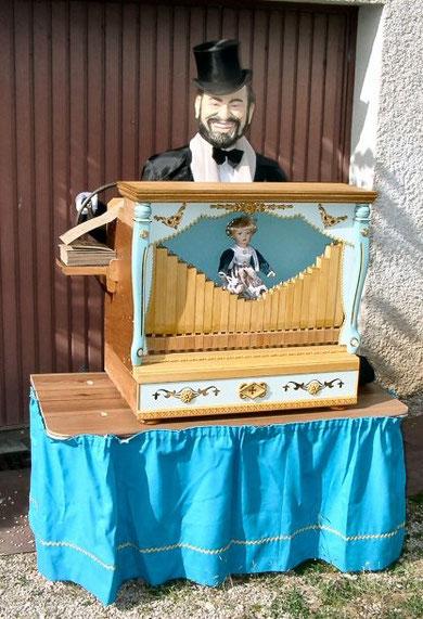 orgue de barbarie automate