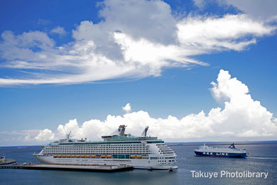 VOYAGER OF THE SEAS 137,276トン 去年入港