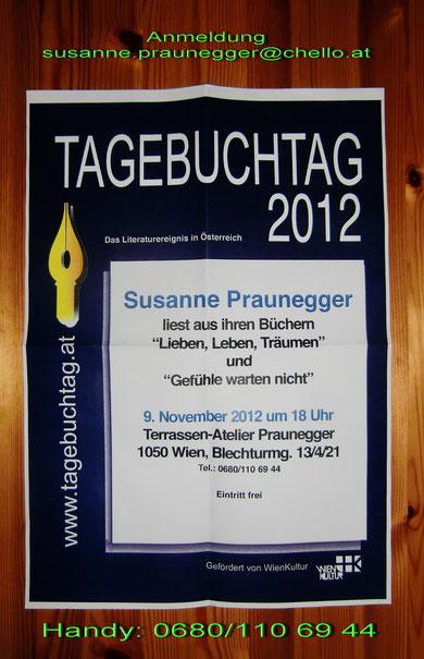 TAGEBUCH - TAG 2012  - 9.November  - 18 Uhr