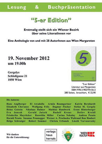 19.November 2012  -  19 Uhr Einlass