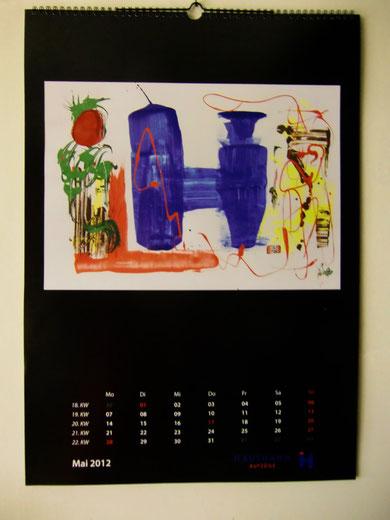 Mein Kalender 2012 Auftrag einer Aufzugsfirma