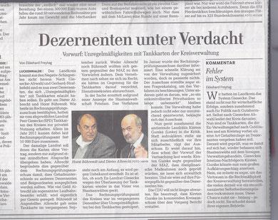 MAZ/Zossener Rundschau 17.5.2013