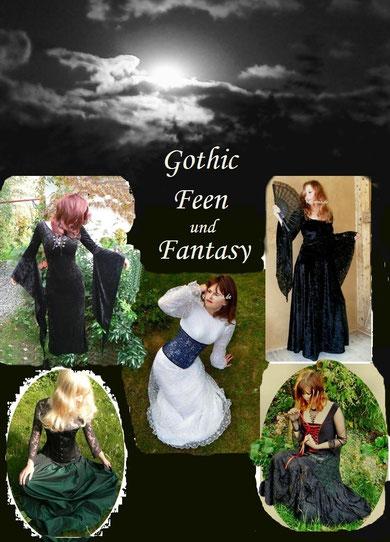 Gothic, Schwarze Mode, Fantasy