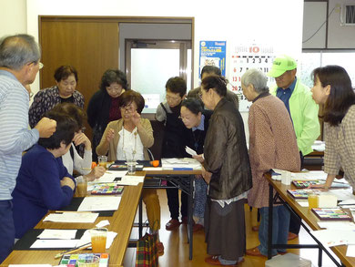 10月16日一筆画教室・星田山手東集会所
