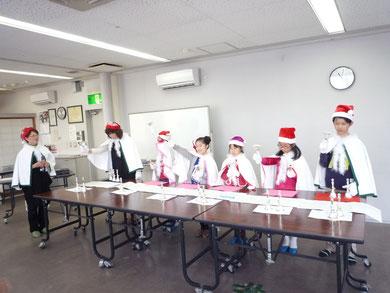 12月7日いきいきサロン・唱歌の会子どもハンドベル・星田西3丁目集会所