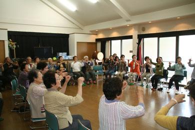 5月度・いきいきサロン・歌体操・星田山手自治会館