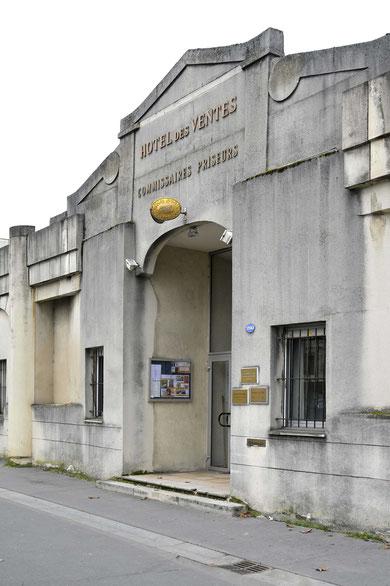 Hôtel des ventes, 280 Avenue Thiers, Bordeaux, rive droite (photo D. Sherwin-White)
