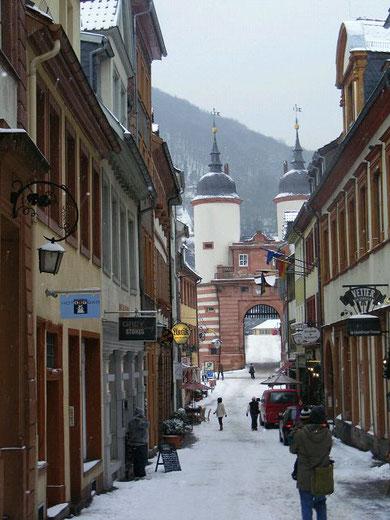 Stadtführung Heidelberg im Winter